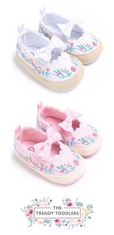 Need a new pair of shoes? SALE 60% OFF + FREE SHIPPING! SHOP Our Floral Bow Espadrilles for Baby & Toddler Girls