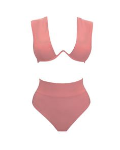 The KUWA bikini is popular for its comfort, style and cut. Beautiful to the eyes, the KUWA features a high rise, medium high cut bottoms that flatter the feminine figure. The W underwire for the top, with removable pads, gives the right amount of support. This...is a closet staple. EXPECTED SHIP DATE 15TH JULY - 15TH Bikini Bottoms, Bikini Tops, Sunkissed Skin, Swimsuits, Bikinis, Swimwear, S Curves, Pink Bikini, 34c
