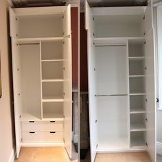 Fitted furniture for London - Fitted Wardrobes, Alcove Cupboards, Bespoke Bookcases, bookshelves and fitted bedroom furniture Fitted Wardrobe Interiors, Wardrobe Interior Design, Fitted Bedroom Furniture, Bedroom Closet Design, Home Room Design, Closet Designs, Mdf Furniture, Bespoke Furniture, Furniture Dolly