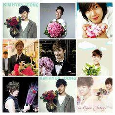 Kim Hyun Joong 김현중 ♡ Kpop ♡ Kdrama ♡ flowers ♡