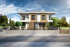 Villa Eylül #villa #architecture #house #houses #facade #wood