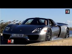 NEW #PORSCHE 918 SPYDER 2015 - FIRST TEST DRIVE ONLY SOUND