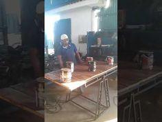 (8) Mesa vira prateleira - YouTube