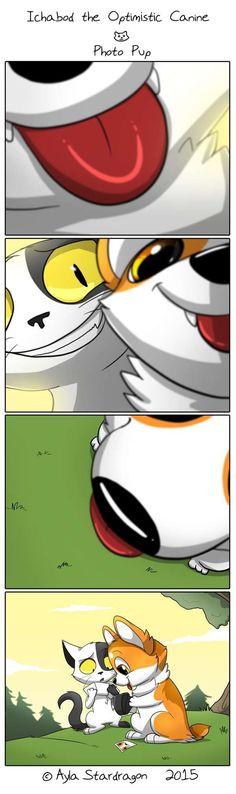 Ichabod the Optimistic Canine :: Photo Pup | Tapastic Comics - image 1 #corgicartoon