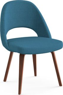 Amazing Hilton Concave Back Armless Chair   Peacock Blue, Peacock Green | Peacock  Blue, Concave And Peacocks