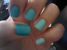 my ombre nails