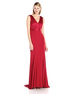 Vera Wang Women's V-Neck Drape Back Long Gown, Red, 8 Vera Wang http://www.amazon.com/dp/B01429R1Y2/ref=cm_sw_r_pi_dp_0yzLwb06G2DJR