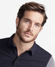 Handsome Bearded Men, Handsome Faces, Short Mens Cuts, Guy Haircuts Long, Facial Hair Growth, Red Guy, Long Hair Cuts, Male Models, Beautiful Men
