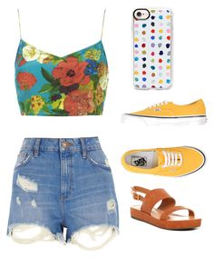 """Untitled #938"" by georgina2610 on Polyvore featuring Casetify, River Island, Boutique, Vans and BC Footwear"