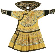 Emperor-summer-court-robe-1851-1861. Chinese Quing Dynasty costume
