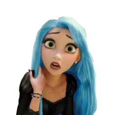 ✝☮✿★ DISNEY LOVE ✝☯★☮ Disney Princesses as Punks