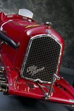 1933 Alfa Romeo P3.  The P3 was introduced in June, 1932,  halfway through the Grand Prix season in Europe. The car won its first race at the hands of Tazio Nuvolari, and went on to win 6 races that year driven by both Nuvolari and Rudolf Caracciola, including all 3 major Grands Prix in Italy, France and Germany. Under Scuderia Ferrari in 1933, the P3 won six of the final 11 events of the season including the final 2 major Grands Prix in Italy and Spain.