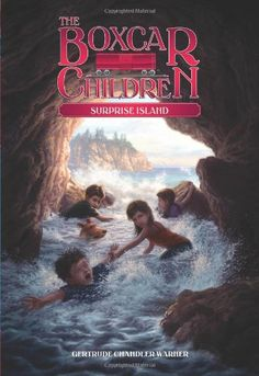 Surprise Island (The Boxcar Children Mysteries #2) by Gertrude Chandler Warner http://www.amazon.com/dp/0807576743/ref=cm_sw_r_pi_dp_RBwQvb0MJ0NJG
