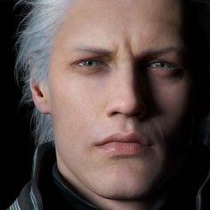 Devil May Cry's Headcanons Devil May Cry, Final Fantasy, Fantasy Rpg, Vergil Dmc, Dark Power, Dmc 5, The Way He Looks, Great Albums, Damian Wayne