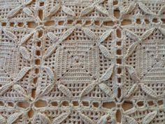 Gorgeous Stunning Vintage 1930's to 1940's Hand Crochet Lace Bedspread | eBay