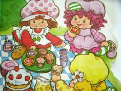 Strawberry Shortcake and the Berry Bears, Vintage Children's Book, Happy House, 1983 Raspberry Smoothie, Apple Smoothies, Strawberry Shortcake Characters, Vintage Strawberry Shortcake Dolls, Best Pixie Cuts, Nostalgia, Recipe For Teens, Salty Cake, Happy House