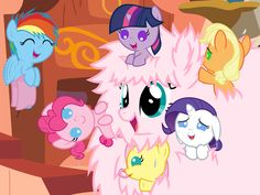 Photo of Fluffy Baby Sitter  for fans of My Little Pony Friendship is Magic.