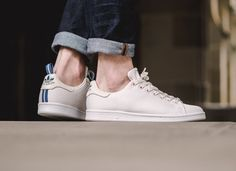 Adidas Stan Smith Circular Knit - Core White/Footwear White available now in-store and online Berne Milan Fashion Weeks, New York Fashion, Paris Fashion, Runway Fashion, Winter Outfits, Summer Outfits, Casual Outfits, Boyish Style, Football Casuals
