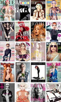 Lady Gaga magazine covers