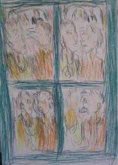 Confrontation I by David Koloane | DAVID KRUT PROJECTS