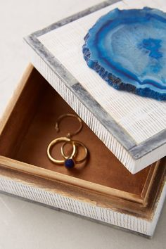 Shop the Agate-Topped Jewelry Box and more Anthropologie at Anthropologie today. Read customer reviews, discover product details and more.