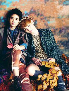 Minho & Key (SHINee).