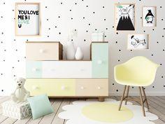 Polka Dot wall stickers Removable Wall Decal by FixateDesigns Polka Dot Walls, Polka Dot Wall Decals, Nursery Wall Stickers, Polka Dots, Removable Wall Decals, Vinyl Wall Decals, Nursery Storage, Smooth Walls, Kids Decor