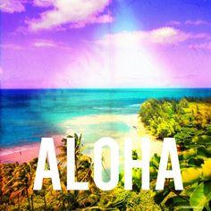 Aloha in Hawaii.