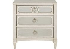 Harlowe Ivory Nightstand. $299.99. 28W x 17.75D x 29H. Find affordable Nightstands for your home that will complement the rest of your furniture.