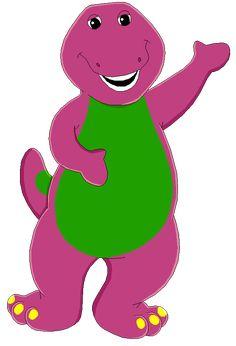 Barney by MollyKetty on DeviantArt Jiyoung Kara, Barney The Dinosaurs, Harry Styles Memes, Barney & Friends, Pbs Kids, Elmo, Great Friends, Line Drawing, Painted Rocks