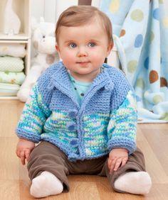 Man denkt, dass das eigene Baby nicht mehr kuscheliger sein kann, aber mit dieser super kuscheligen Jacke schon. Stricken Sie mit…