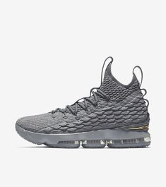 quality design 3f2b9 3a5ab LEBRON 15 Snicker Shoes, Large Size Shoes, Air Max Sneakers, All Black  Sneakers