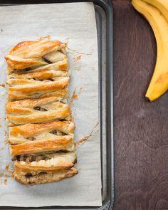 Chocolate Banana Braid Recipe by Tasty