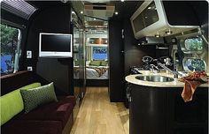Airstream Signature International redefines upscale and contemporary sleek sophistication.