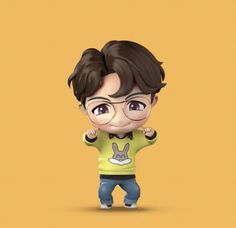 Little Hope Right Here . Namjoon, Jhope Bts, Yoongi, Seokjin, Bts Taehyung, Cartoon Pics, Cute Cartoon Wallpapers, Boy Scouts, Jung Hoseok