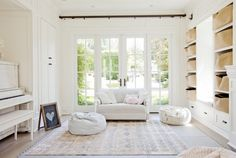 West Van Residence   The Cross Interior Design Services, All White, Interior Inspiration, Home And Family, Van, Kids Rugs, Storage, Girly, Furniture