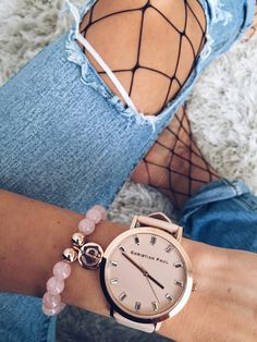 Sandra Bendre feeling pretty in pink !    https://www.christianpaul.com.au/collections/luxe-collection/products/43mm-bondi-luxe-special-edition