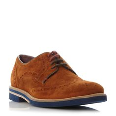 Ted Baker Archerr 2 contrast sole brogue, Tan
