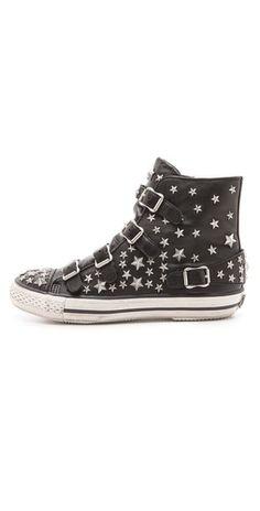 Ash Vertue Studded Buckle Sneakers | SHOPBOP