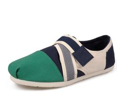 Toms shoes are designed in the latest style and the match of color will  attract your eye sight wherever they are .