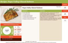 Napa Valley Glazed Salmon is one of the heart healthy dishes served in the WMC Garden Cafeteria this month. Try this yummy, healthy recipe.