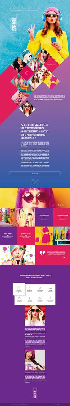 Bring Some Color Web Design Web Design, Website, Inspiration, Color, Product Development, Design Web, Biblical Inspiration, Colour, Website Designs