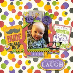 Created with Funny Business Mini Kit, Solid Papers and Journal Cards from Snips and Snails Designs and Rainy Day Templates from LIttle Bit Shoppe