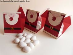 Christmas Crafts, Christmas Decorations, Holiday Decor, Winter Kids, Gift Packaging, Advent Calendar, Container, Paper, Gifts