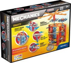 Certified STEM Construction Toy 50-Piece Magnetic Building Set Geomag CONFETTI Safe for Ages 3 and Up