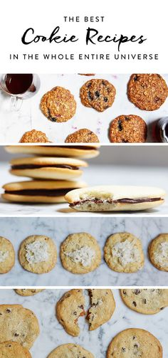 The holidays are here, and that means one thing: It's time to elevate your baking game. We'll show you the way, starting with these 39 irresistible cookie recipes. Everything from basic sugar cookies to chocolate chip, it's all the recipes you need for your holiday dessert table.