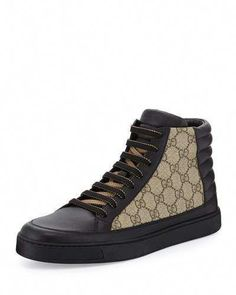 e13937c7bc7c Common Leather High-Top Sneaker