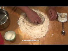 Pizza dough with fresh yeast