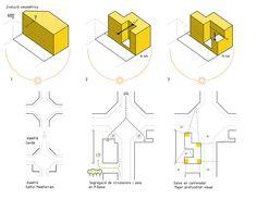 architectre diagrams _ Housing with Nursery, 2+2 architecture - BETA