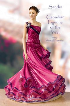 Royal Doulton, 'Sandra', 2015 Canadian Figurine of the Year.